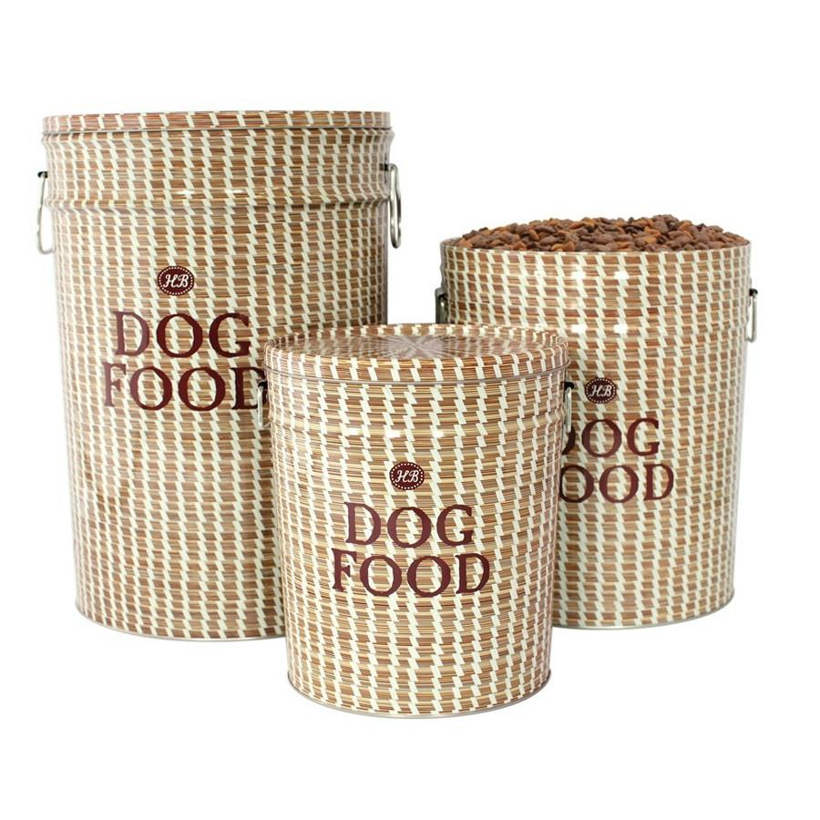Basket Dog Food Storage