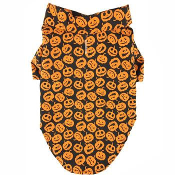 Holiday Camp Pet Dog Clothing - Halloween Jack-O-Lanterns Dog Shirt
