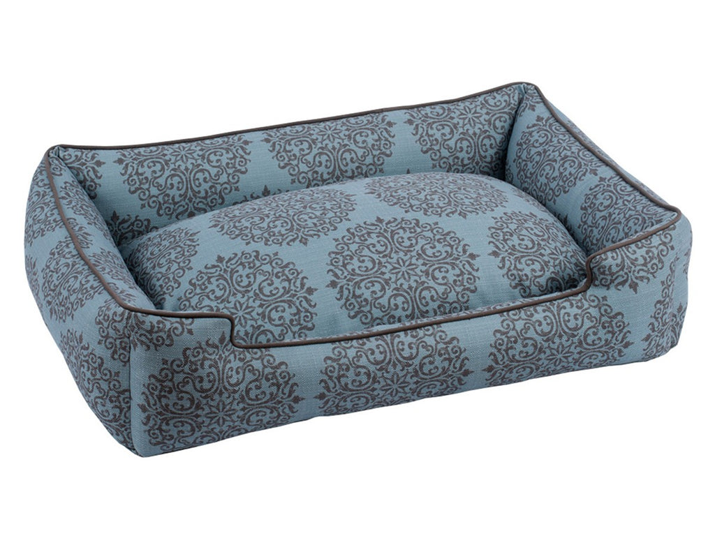Milan Teal Lounge Luxury Hypo-Allergenic Dog Bed