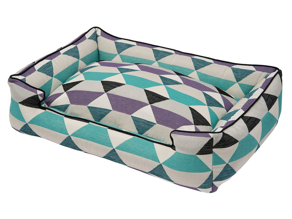 Origami Plum Lounge Luxury Hypo-Allergenic Dog Bed