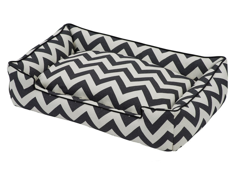Ziggy Lounge Designer Premium Cotton Blend Luxury Hypo-Allergenic High-Traffic Dog Bed