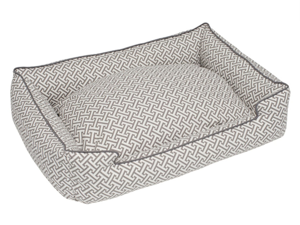Hera Grey Lounge Luxury Hypo-Allergenic Dog Bed