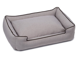 Callen Earl Grey Designer Lounge Luxury Hypo-Allergenic For Heavy Use Dog Bed