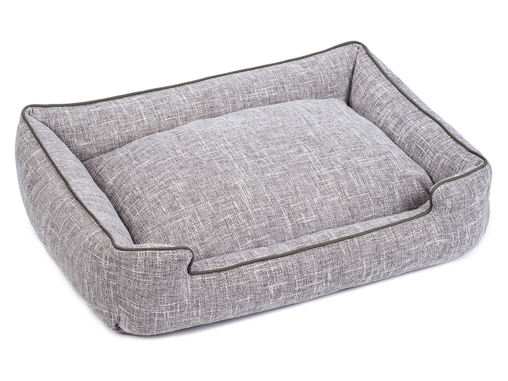 Harper Gris Lounge Luxury Hypo-Allergenic Dog Bed