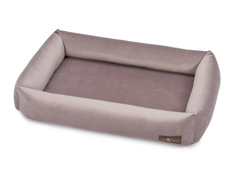 Vintage Mauve Memory Foam Water/Stain & Mildew Resistant Cuddler Dog Bed
