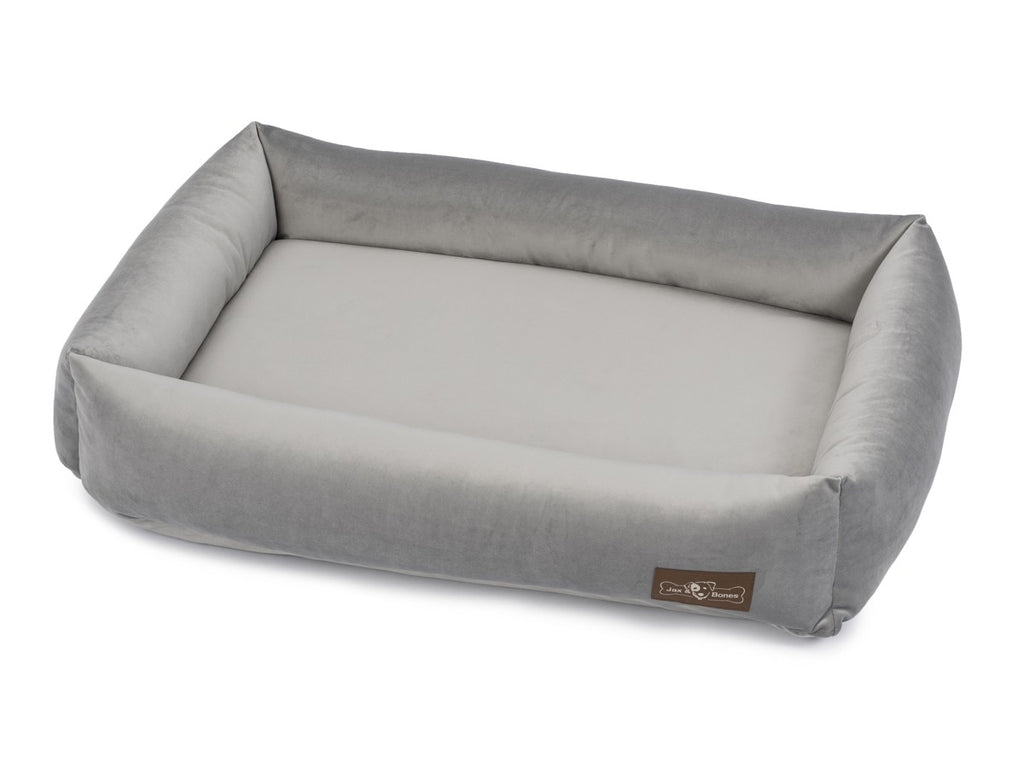 Vintage Seal Grey Memory Foam Water/Stain & Mildew Resistant Cuddler Dog Bed
