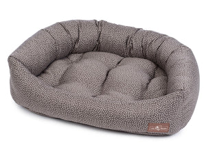 Flicker Heather Hypo-Allergenic Bolster Napper Hybrid Joint Support Dog Bed