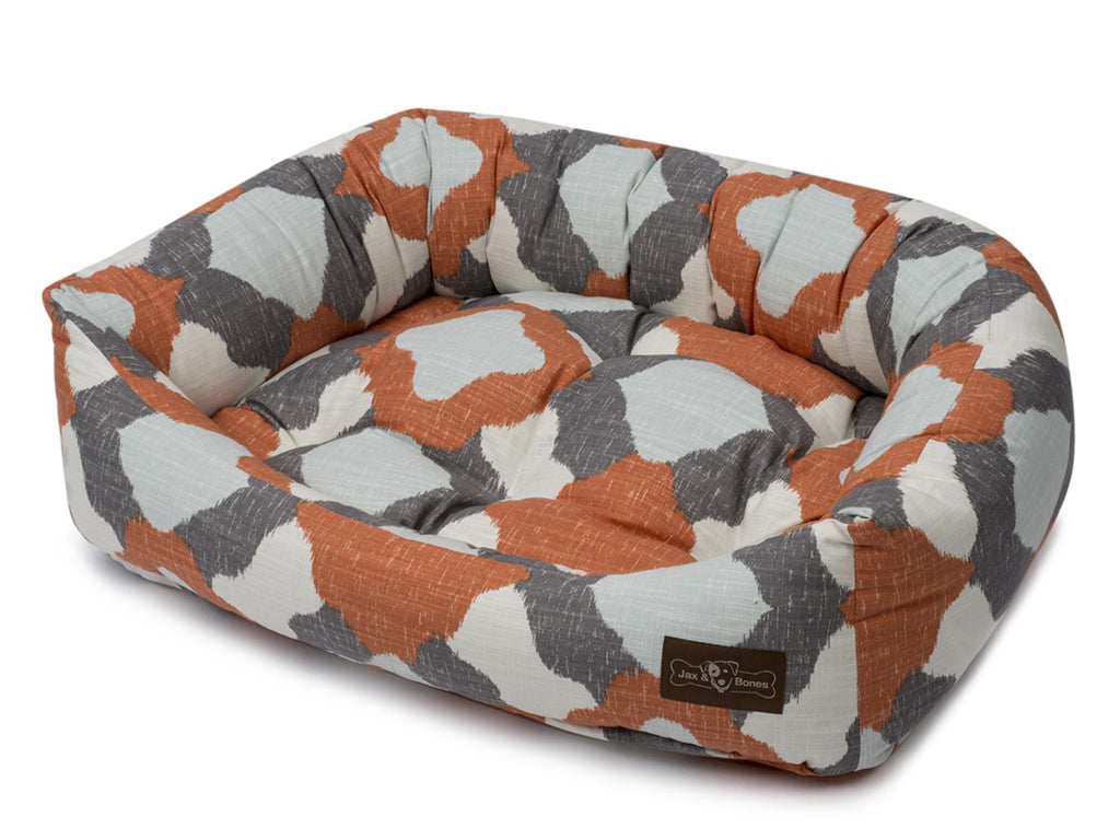 Mosque Apricot Hypo-Allergenic Bolster Napper Hybrid Joint Support Dog Bed