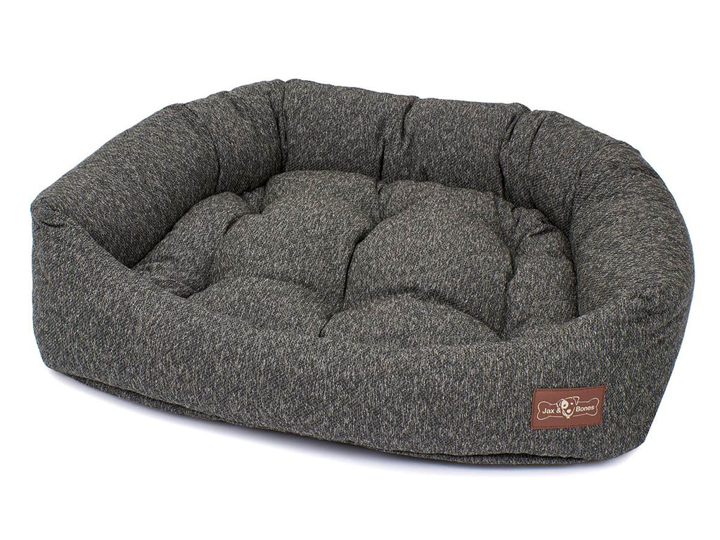 Loop Granite Hypo-Allergenic Bolster Napper Hybrid Joint Support Dog Bed