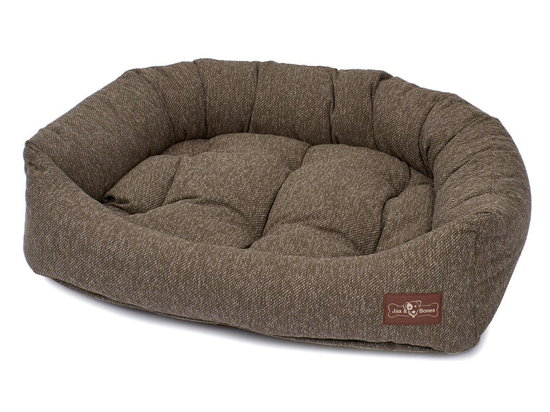 Loop Stone Hypo-Allergenic Bolster Napper Hybrid Joint Support Dog Bed