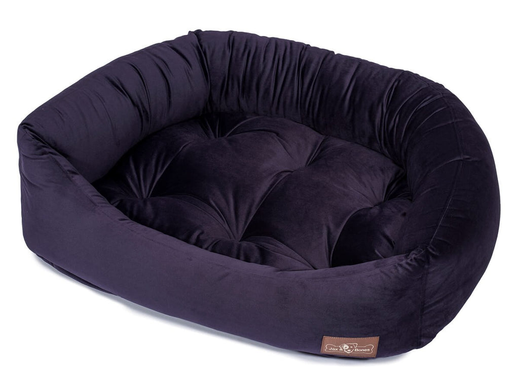 Grape Hypo-Allergenic Bolster Napper Joint Support Dog Bed