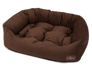 Bronze Hypo-Allergenic Bolster Napper Hybrid Joint Support Dog Bed