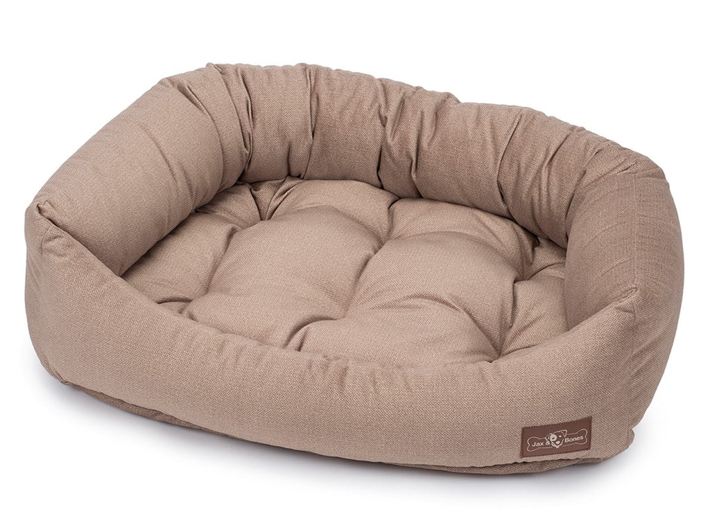 Gold Hypo-Allergenic Bolster Napper Hybrid Joint Support Dog Bed
