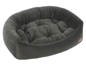 Granite Hypo-Allergenic Bolster Napper Hybrid Joint Support Dog Bed