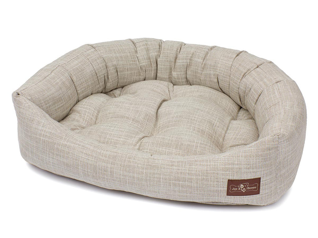 Newport Wood Hypo-Allergenic Bolster Napper Joint Support Dog Bed