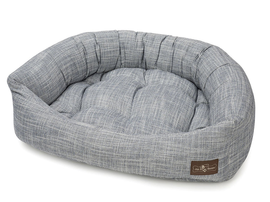 Newport Marble Hypo-Allergenic Bolster Napper Joint Support Dog Bed