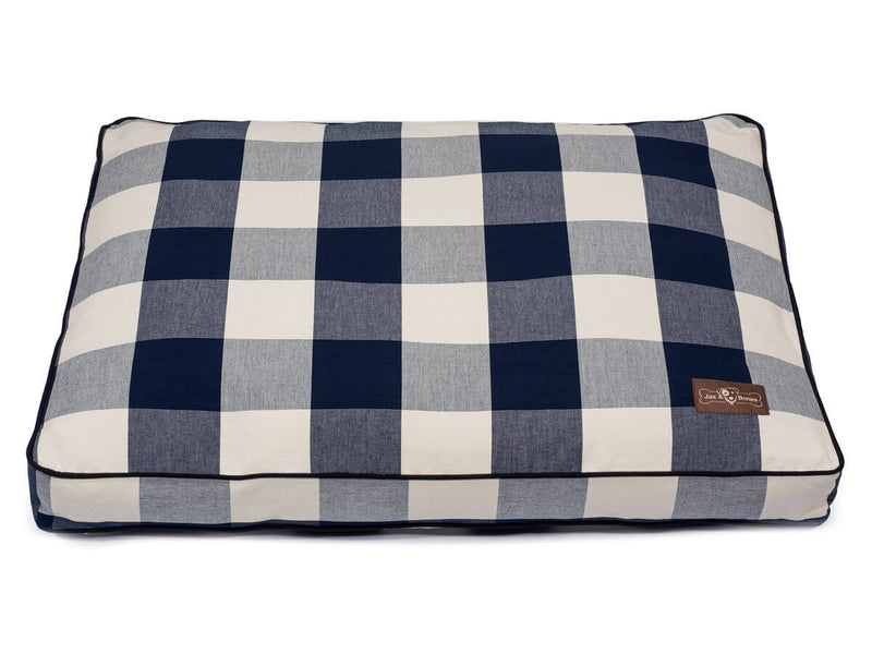 Buffalo Check Navy Hypo-Allergenic Designer Pillow Pet Bed