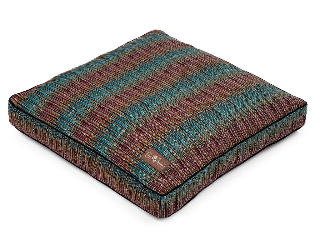 Santa Fe Exotic Allergy-Free Premium Square Pillow Dog Bed