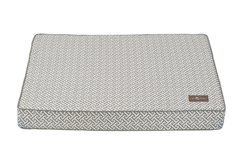 Hera Grey Ultra-Thick NASA Grade Memory Foam Pet Dog Bed