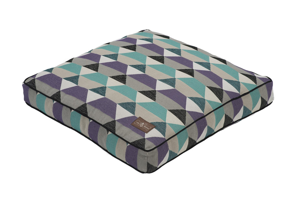 Origami Allergy-Free Premium Square Pillow Pet Bed