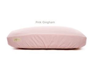 Pink Gingham Deluxe Fitted Linen Cover for B&G Martin Pet Beds
