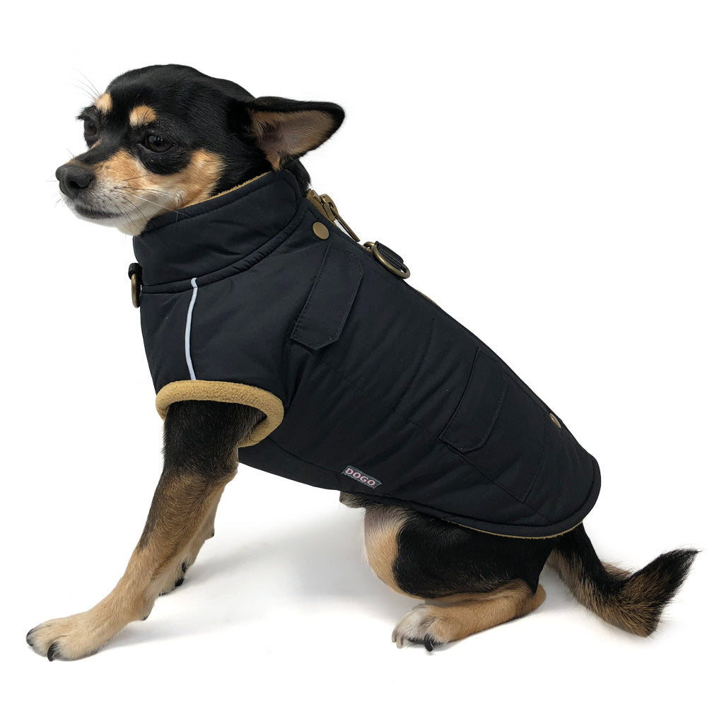 Runner Water-Resistant Dog Coat Harness