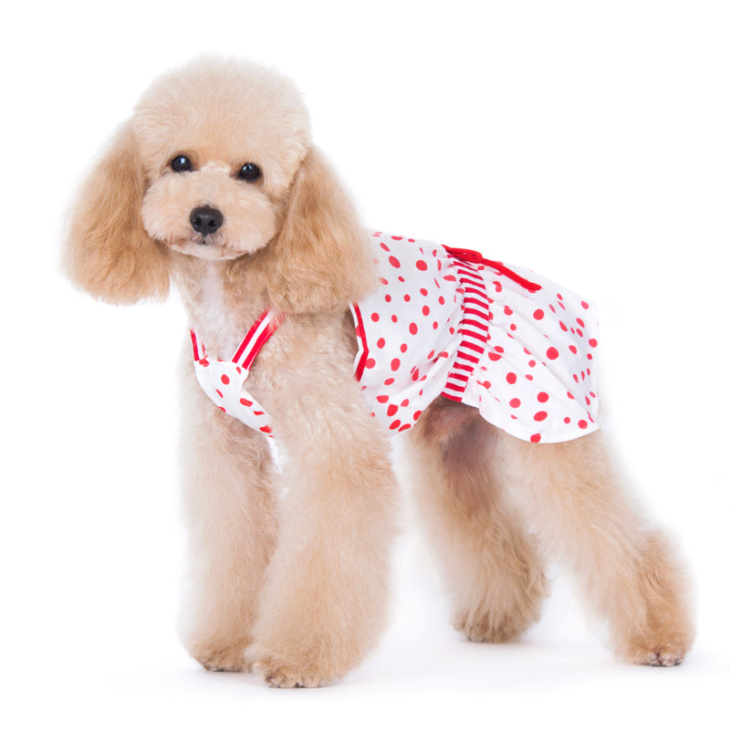 PP Red Bubble Designer Dog Dress