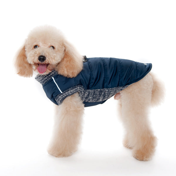 Red Athletic Urban Runner Warm Insulated Waterproof Designer Pet Dog Coat