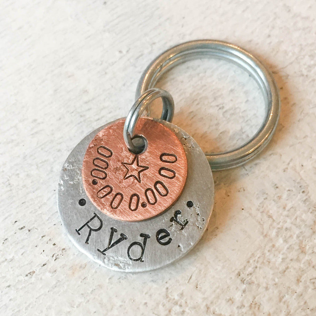 Ryder Artisan Pet Dog / Cat ID Tag (Personalize)