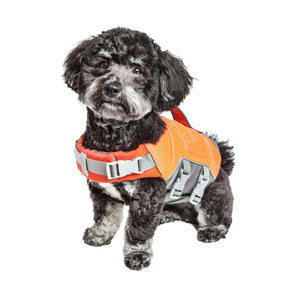 Dog Helios Tidal Guard Reflective Floatation Buoyancy Tear-Resistant Water Dog Life Jacket