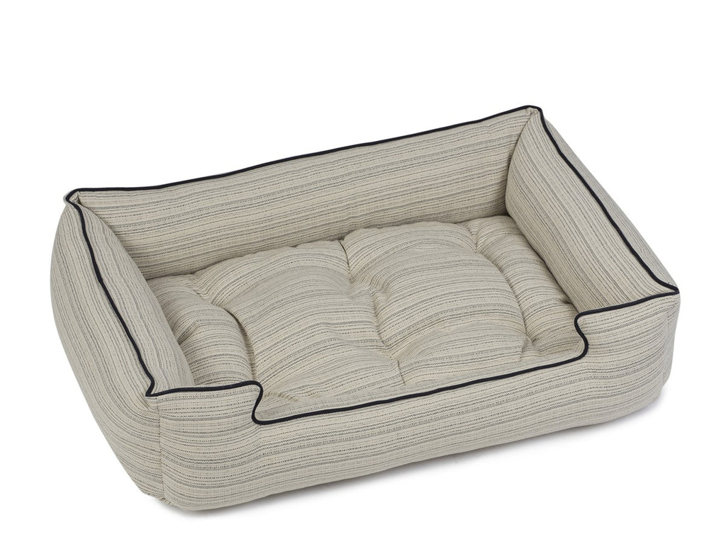 Domingo Grey Luxury Hypo-Allergenic Joint Support Sleeper Dog Bed