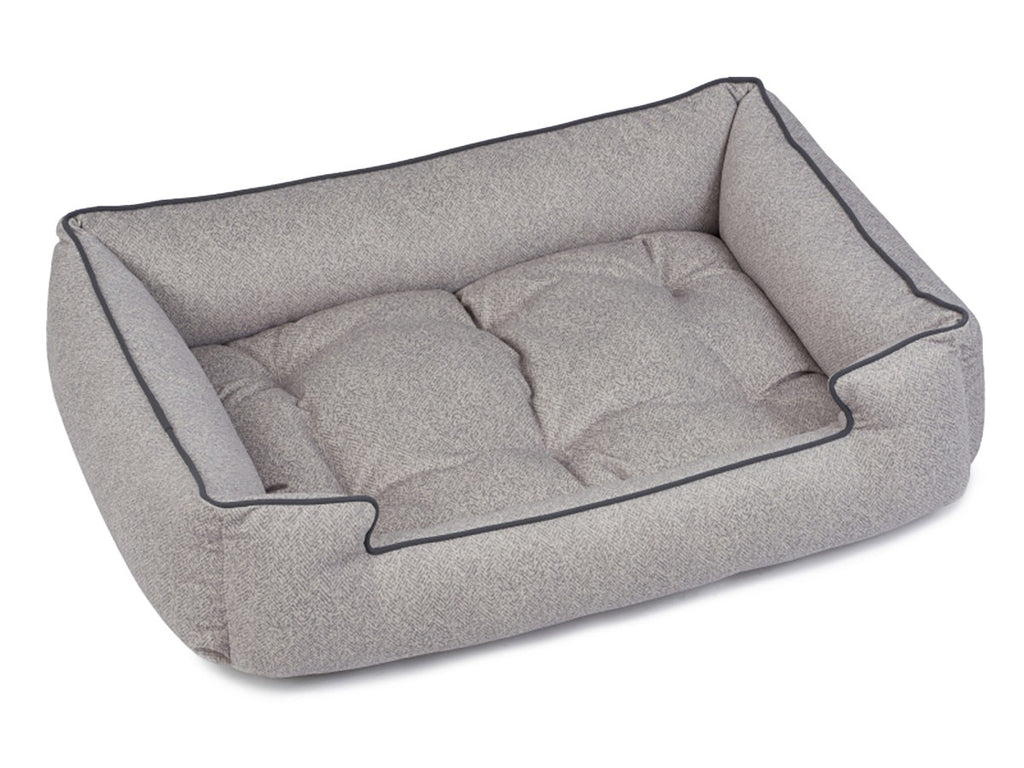 Herringbone Horizon Hypo-Allergenic Joint Support Sleeper Dog Bed