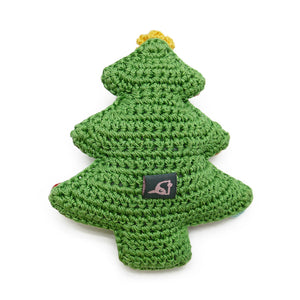Light Chewer Squeaky Christmas Tree Dog Toy