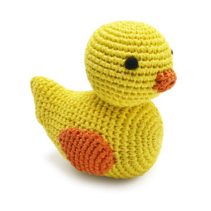 Light Chewer Squeaky Duck Dog Toy