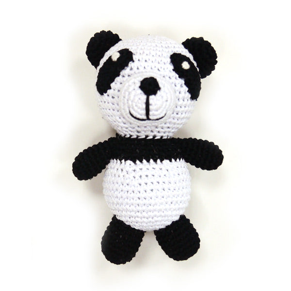 Light Chewer Squeaky Panda Dog Toy