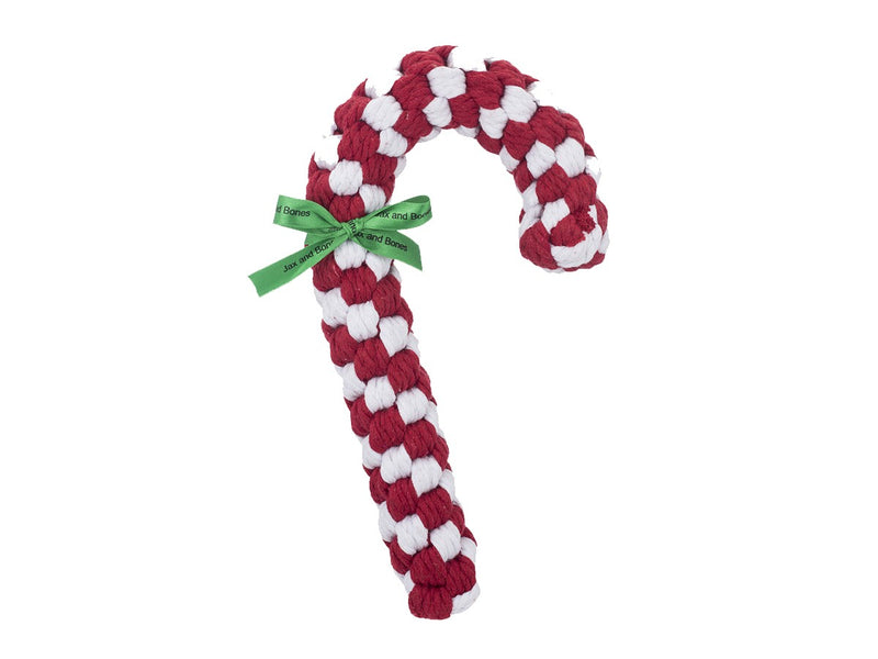 Light Chewer Candy Cane Dog Rope Toy