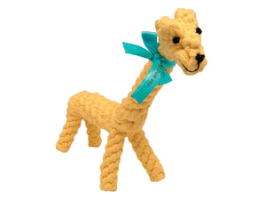 Heavy Chewer Giraffe Dog Rope Toy
