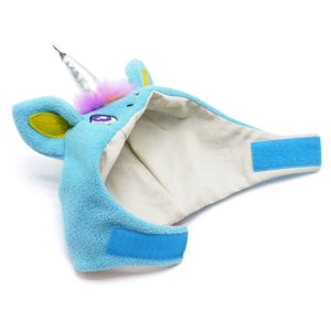Multi-Color Mohair Ultra-Soft Warm Designer Costume Pet Dog Hat - Magical Unicorn Hat