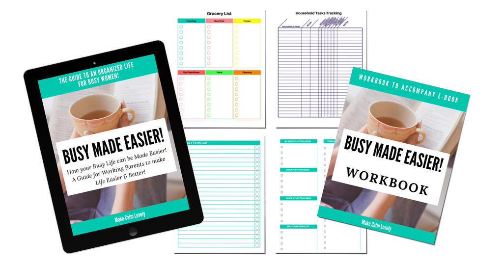 Busy Made Easier e-book