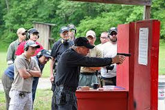 Bill Rogers Instructing - Rogers Shooting School