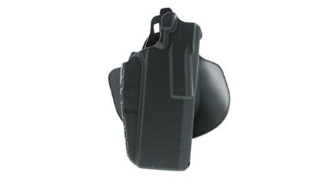 Safariland 7378 7TS 1911/2011 ALS Slim Flexible Paddle & Belt Loop Concealment Holster, SafariSeven Black, Right Hand