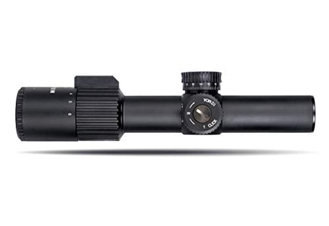 Monstrum Alpha Series 1-6x24 First Focal Plane FFP Rifle Scope with MOA Reticle | Black
