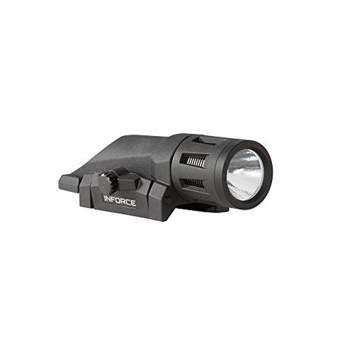 Inforce WML 400 Lumens Gen 2 White Light Black Body W-05-1 Weapon Mounted Light
