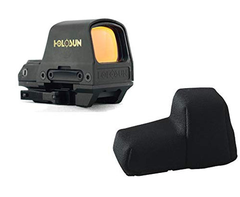 HOLOSUN HS510C 2 MOA Dot Or A 65 MOA Ring Open Reflex Circle Dot Solar Power Holographic Red Dot Sight w/Sight Cover