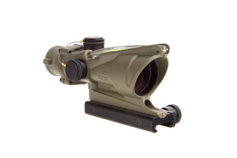 Trijicon ACOG TA31-D-100367 4x 32 Dual Illuminated Green Horseshoe Dot .223 BAC Reticle Scope, Dark Earth