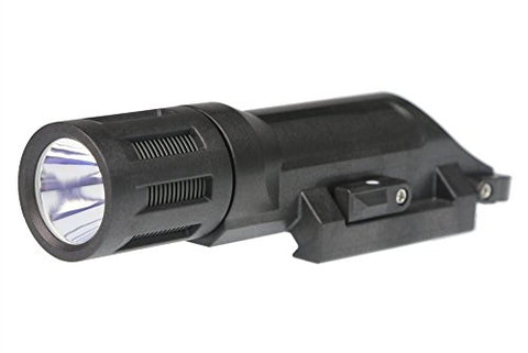 Inforce WMLX Multifunction White LED 500 lm Weapon Mounted Light, Black Body