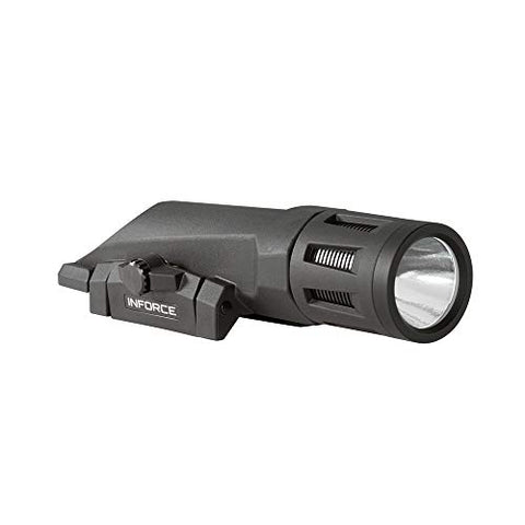 INFORCE WMLx 700 Lumens Gen 2 White Light with IR Black Body WX-05-2 Weapon Mounted Light