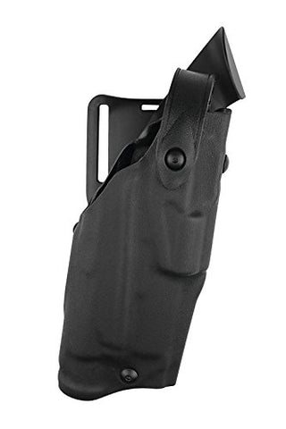 Safariland 6360 Level 3 Retention ALS Duty Holster, Mid-Ride, Black, STX Fine Tac, Glock 22 with M3, Right Hand