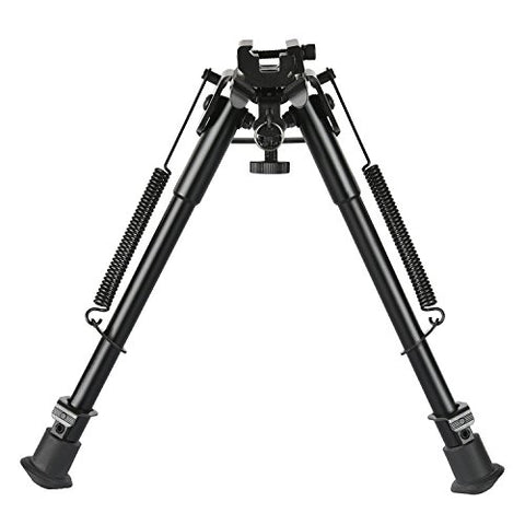 CVLIFE 9-13 Inches Bipod with Solid Sling Adapter Base
