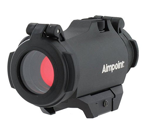 Aimpoint Micro H-2 Red Dot Reflex Sight with Standard Rail Mount - 2 MOA - 200185
